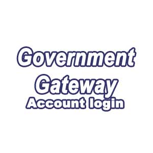 Login government Gateway account
