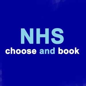 NHS choose and book
