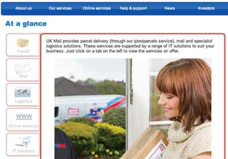 UK mail service