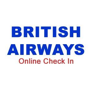 British airways online check-in