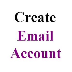 Create Email Account