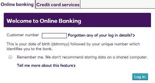 Log in Natwest account