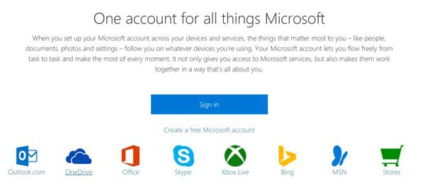 How to make a Microsoft account on all devices