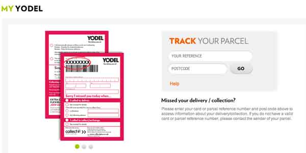 My Yodel delivery
