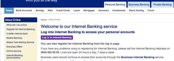 Scotland internet banking