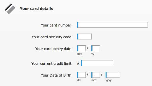 Sign-up Barclaycard
