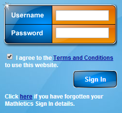 Login to your account Mathletics