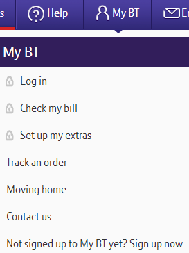 Go to the BT registration page to subscribe
