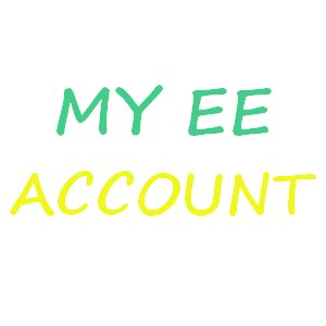 My EE Account