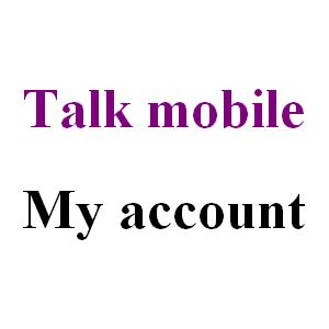 Talk mobile my account