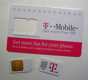 T Mobile Card
